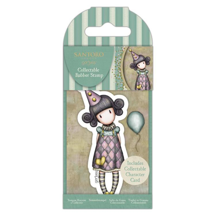 Collectable Rubber Stamp - Santoro - No.69  Pierrot