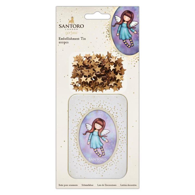 Embellishment Tin (200pcs) - Santoro - Bound For Heaven