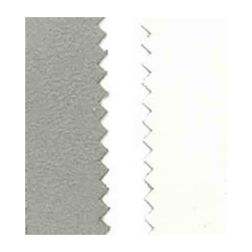 Vegan leer, dubb.z. fluweel, light grey/white