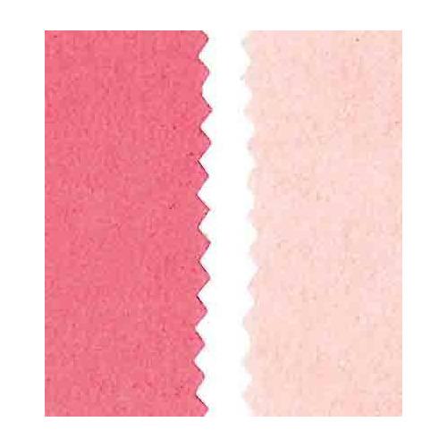 Vegan leer, dubb.z. fluweel, pink light/dark