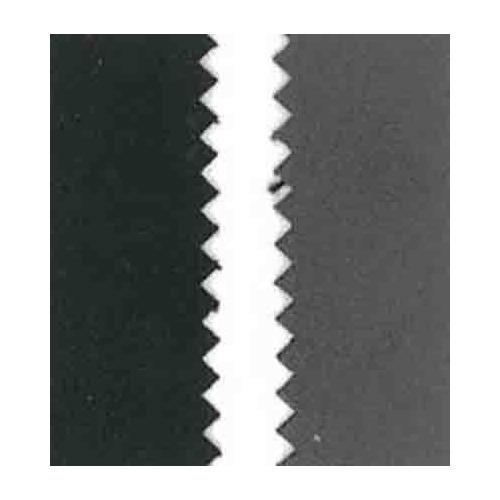 Vegan leer, dubb.z. fluweel, black/dk.grey