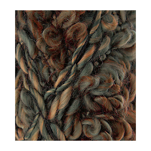 Fleurs Wool, Purple/beige/brown