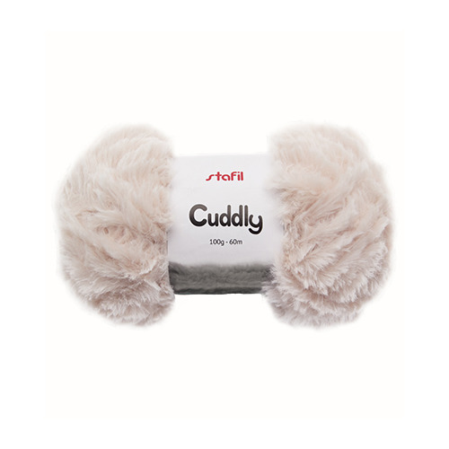Cuddly Yarn, White
