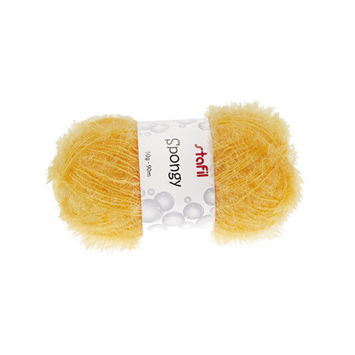 Sponge Yarn Spongy, Yellow