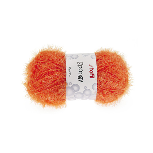 Sponge Yarn Spongy, Orange
