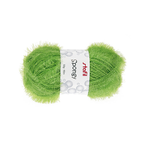 Sponge Yarn Spongy, Light Green