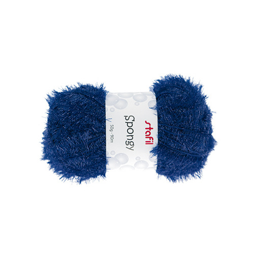 Sponge Yarn Spongy, Royal Blue