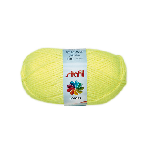 Colors Wool, Yellow Fluo
