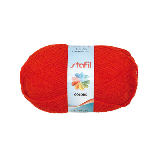 Colors Wool, Red