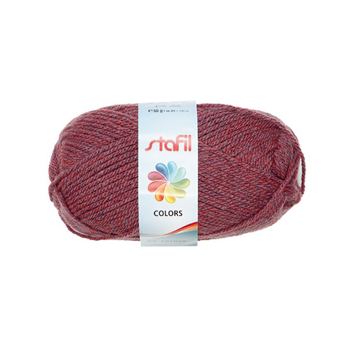 Colors Wool, Bordeaux Melange