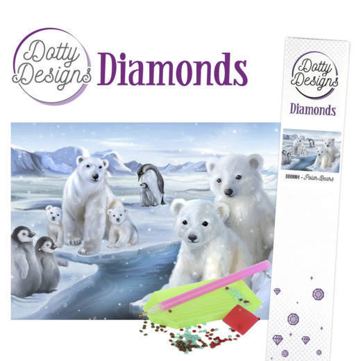 Dotty Designs Diamonds - Polar Bears