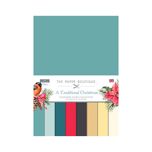 A Traditional Christmas Colour Card Collection