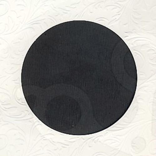 6 st vierkante kaarten rond pptout wit 4