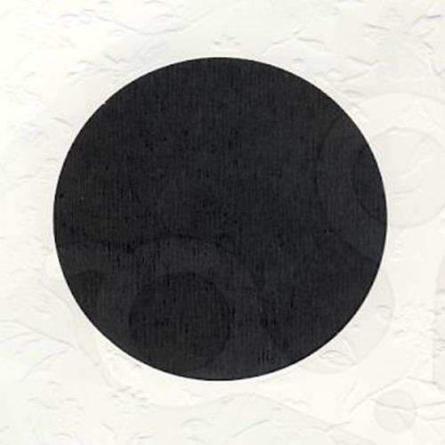 6 st vierkante kaarten rond pptout wit 7