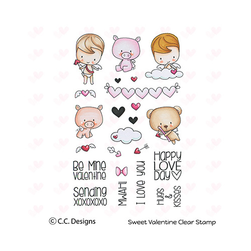 Clear Stamp Sweet Valentine