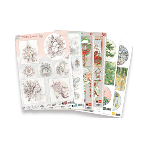 Decoupage set - Christmas assorti