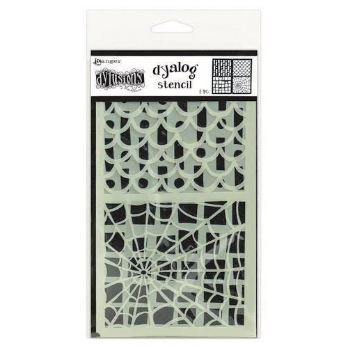 Ranger Dylusions Dyalog Stencil Set Stencil It Too DYS68778 Dyan Reaveley (10-19)
