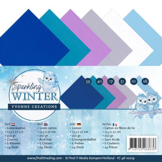 Linnenpakket - 4K - Yvonne Creations - Sparkling Winter