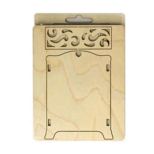 3D wooden puzzle wardrobe
