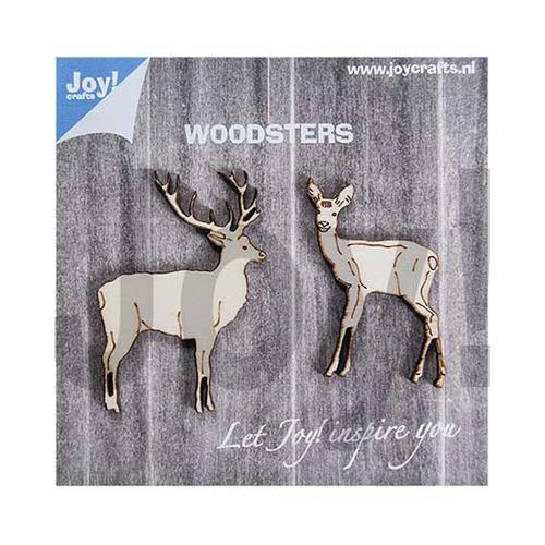 Woodsters - Houten hertjes