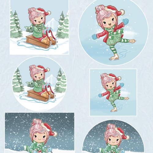 Scenery - Yvonne Creations Lola - Winter