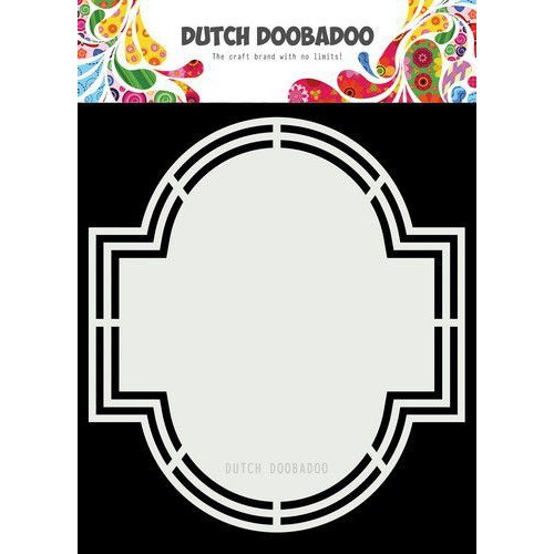 Dutch Doobadoo Dutch Shape Art Emerald A5 470.713.182 (11-19)