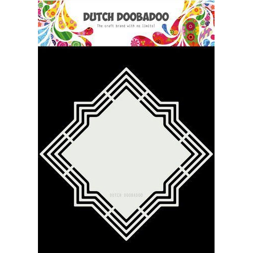 Dutch Doobadoo Dutch Shape Art Lola 18x18cm 470.713.183 (11-19)