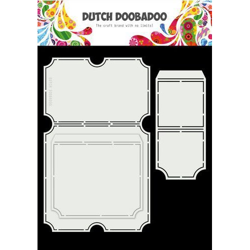 Dutch Doobadoo Card Art A4 Tickets 470.713.749 (11-19)