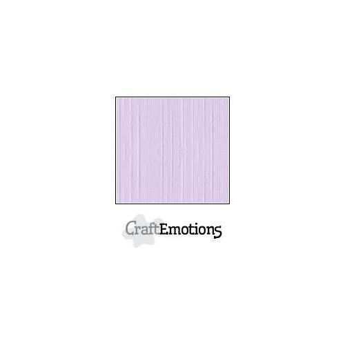CraftEmotions linnenkarton 100 vel lavendel-pastel Bulk LC-59 30,5x30,5cm 250gr