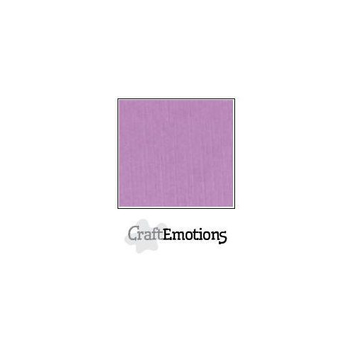 CraftEmotions linnenkarton 100 vel lila Bulk LC-33 30,5x30,5cm 250gr