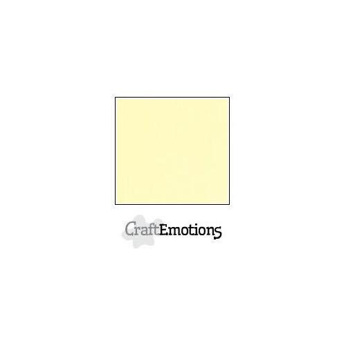 CraftEmotions linnenkarton 100 vel geel Bulk LC-32 30,5x30,5cm 250gr