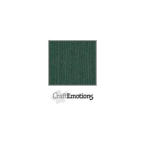 CraftEmotions linnenkarton 100 vel smaragdgroen Bulk LHC-62 A4 250gr