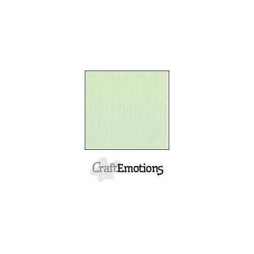 CraftEmotions linnenkarton 100 vel groen Bulk LHC-09 A4 250gr
