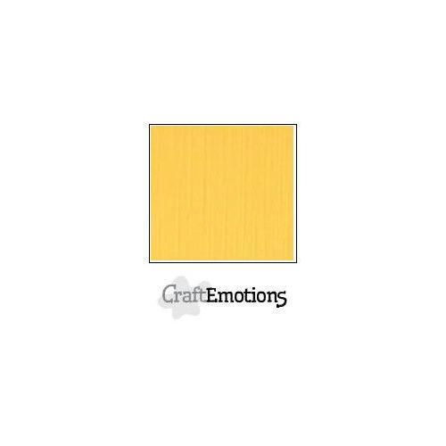 CraftEmotions linnenkarton 100 vel goudgeel Bulk LHC-22 A4 250gr
