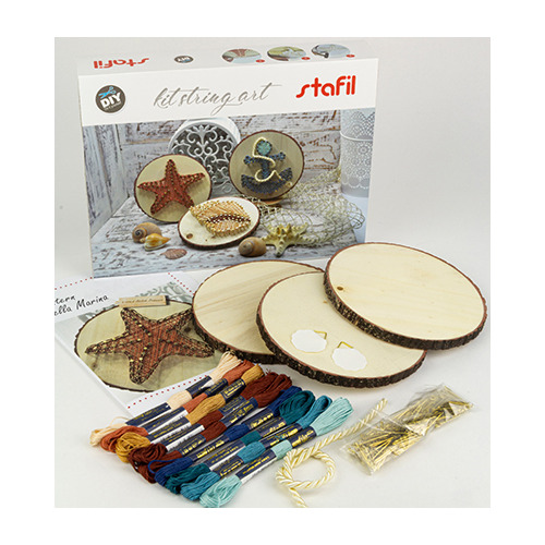 String-art creative kit, sea