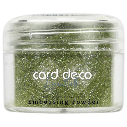 Card Deco Essentials - Embossing Powder Glitter Green 30 Gr