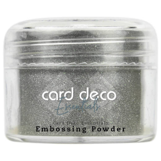 Card Deco Essentials - Embossing Powder Glitter Silver 30 Gr