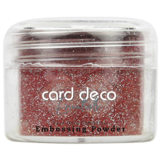 Card Deco Essentials - Embossing Powder Glitter Red 30 Gr