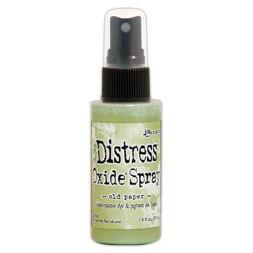 Ranger Distress Oxide Spray - Old Paper TSO67788 Tim Holtz (11-19)