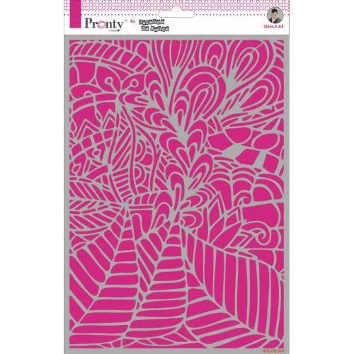 Pronty Mask Background Leafy by Jolanda A4 470.770.024 by Jolanda (11-19)