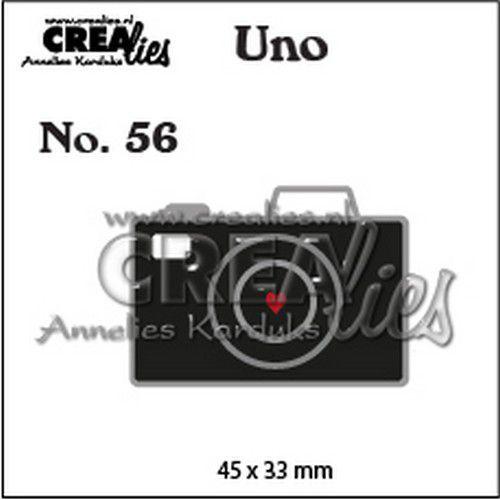 Crealies Uno nr. 56 Camera (klein) CLUno56 45x33mm (11-19)
