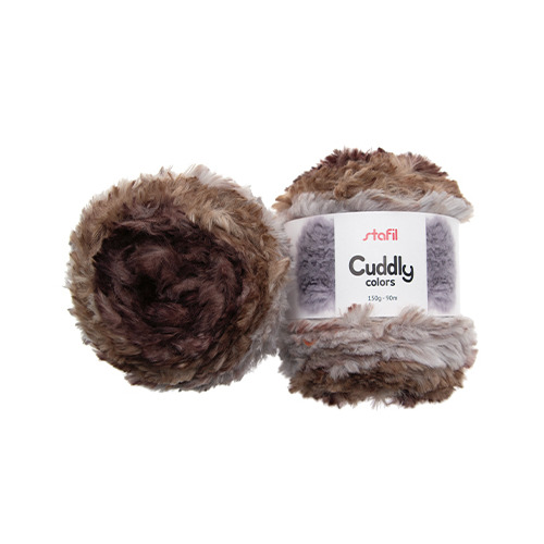 Cuddly Colors Yarn, Natural