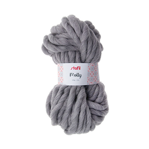 Molly Yarn, Light Grey