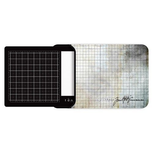 Tonic Studios Tools - Travel Glass media mat (40,0x26,0cm) 2633e Tim Holtz (11-19)