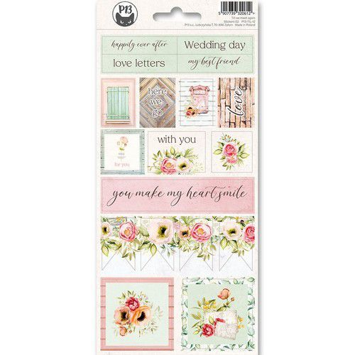 Piatek13 - Sticker sheet Till we meet again 02 P13-TIL-12 10,5x23 cm (11-19)
