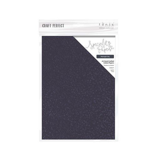 Tonic Studios handmade paper - Midnight Sky A4 5 vl 9885E (11-19)