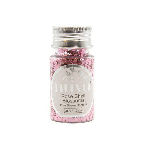 Nuvo Pure sheen confetti - rose shell blossomss 35ml 1071N (11-19)