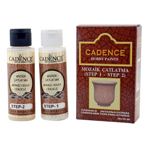 Cadence ei / mozaiek crackle set 01 144 0001 7070 70+70ml
