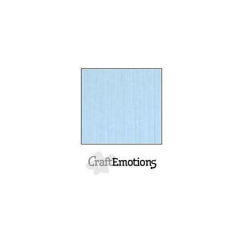 CraftEmotions linnenkarton 10 vel azuurblauw LHC-14 A4 250gr