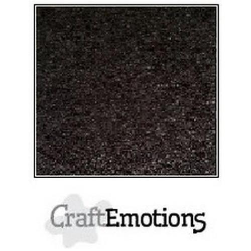 CraftEmotions karton kraft zwart 10 vel A4  220GR